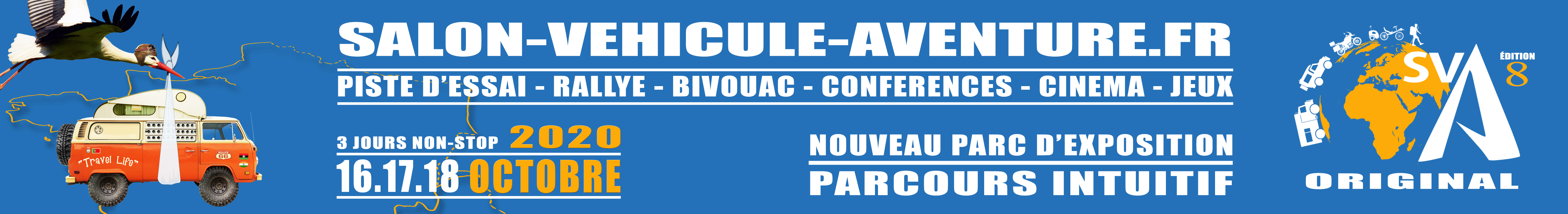 SALON DU VEHICULE D'AVENTURE (officiel)